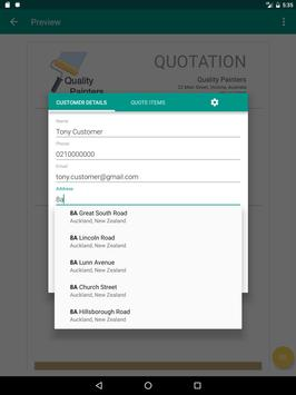 The Business Quote Solution screenshot 7