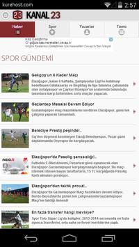 Kanal 23 Haber apk screenshot