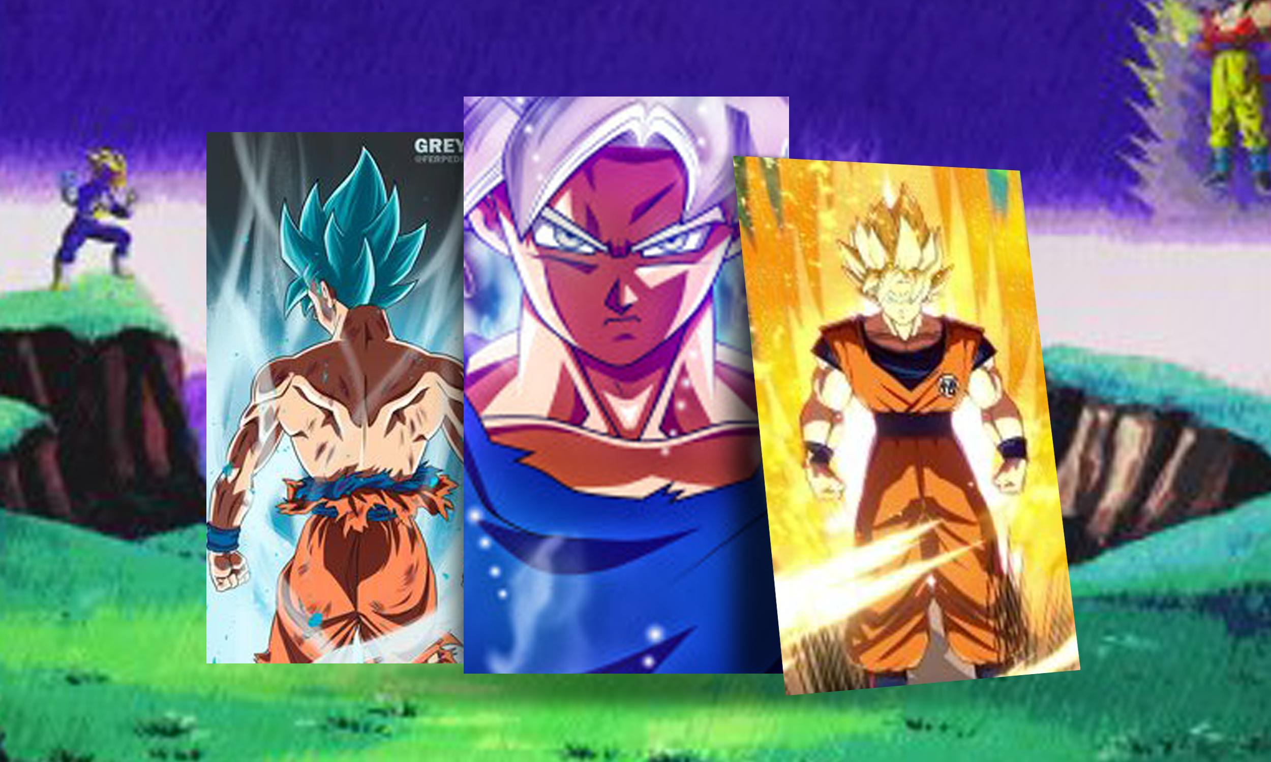 Goku Super Saiyan Wallpapers For Android Apk Download