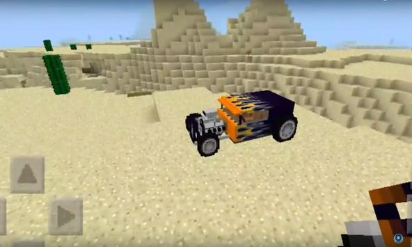 Hot Rod addon for MCPE poster