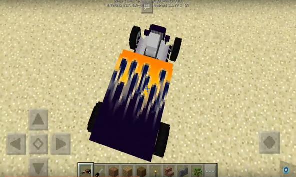 Hot Rod addon for MCPE apk screenshot