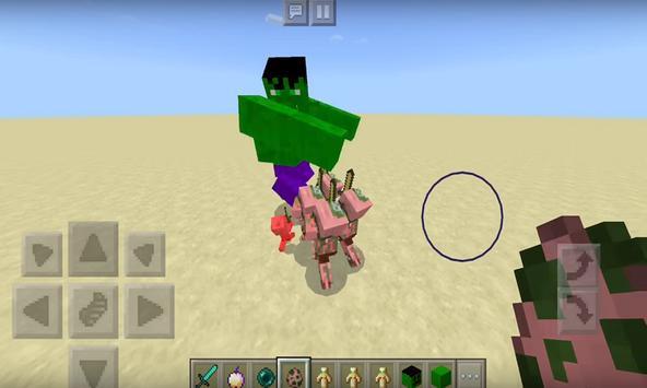 Hulk addon for MCPE apk screenshot