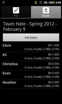 Softball Stats Pro screenshot 7