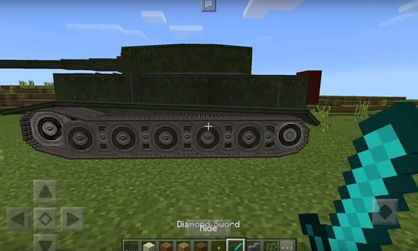 War tank addon for MCPE poster