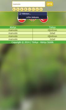 Turkish Kurdish Dictionary screenshot 7