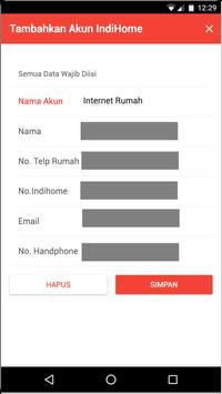 Indihome Usage Info apk screenshot