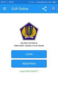 DJP Online E-Filing Lapor Pajak poster