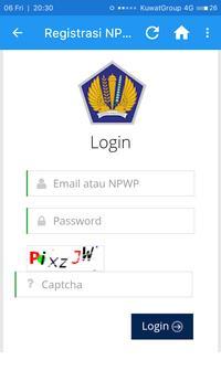 DJP Online E-Filing Lapor Pajak apk screenshot