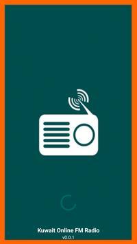 Kuwait Online FM Radio poster