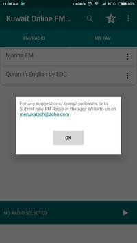 Kuwait Online FM Radio screenshot 2