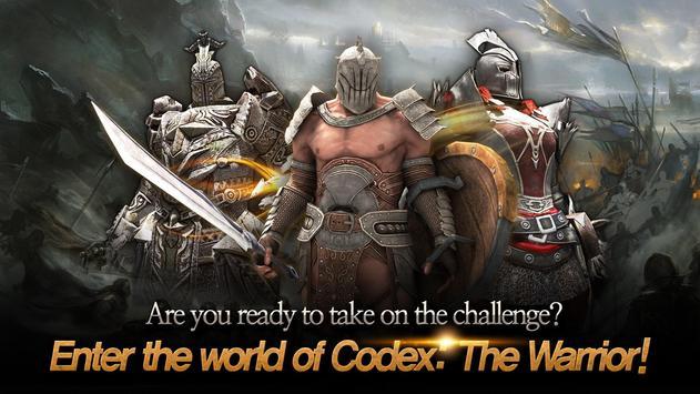 Codex: The Warrior apk screenshot