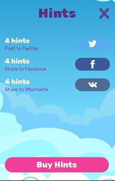 Найди имя ПОНИ: филворды screenshot 3