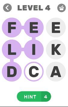 Word Flow - A Word Game apk screenshot