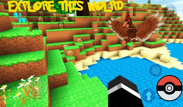 Pixelmon mine world: Story mod apk screenshot