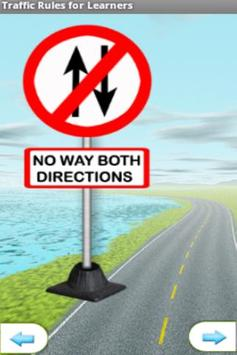 Traffic Signs for Learners screenshot 3