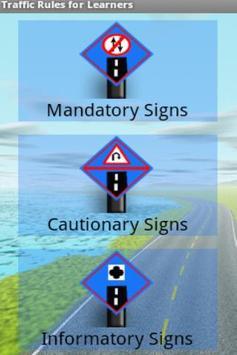 Traffic Signs for Learners screenshot 1