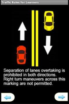 Traffic Signs for Learners screenshot 2