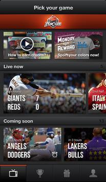 FanCake Live Sports Experience apk screenshot