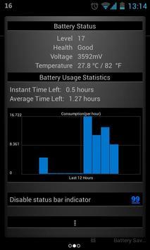 Glowing Battery Saver Lite screenshot 1