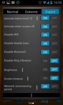 Glowing Battery Saver Lite screenshot 2