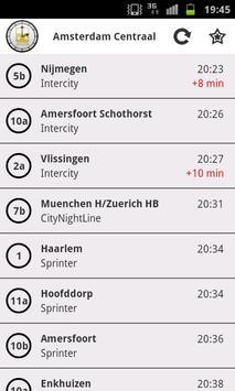 Train Departures NL screenshot 2