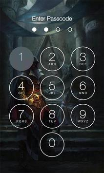Assassins Lock Screen Apk Screenshot