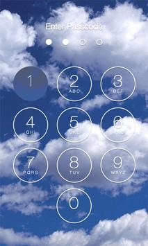Cloud Lock Screen poster