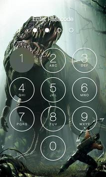 Dinosaur Lock Screen screenshot 3