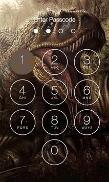 Dinosaur Lock Screen poster