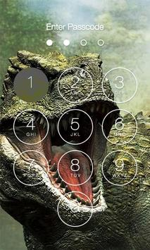 Dinosaur Lock Screen screenshot 1