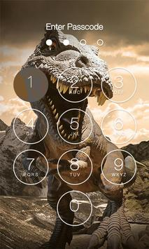 Dinosaur Lock Screen screenshot 2