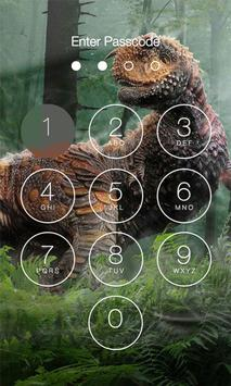 Dinosaur Lock Screen screenshot 4