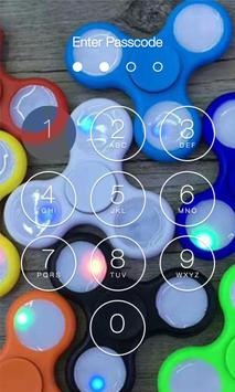 Fidget Spinner Lock Screen HD screenshot 8