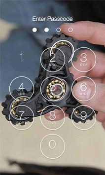 Fidget Spinner Lock Screen HD screenshot 9