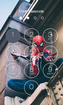 Spidey Homecoming Lock Screen apk screenshot