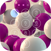 3D Abstract Lock Screen icon