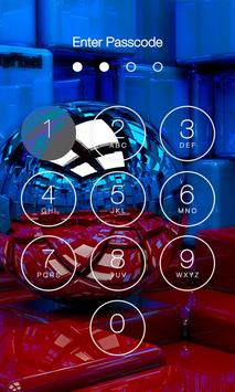 3D Abstract Lock Screen poster