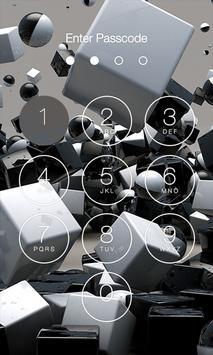 3D Abstract Lock Screen apk screenshot