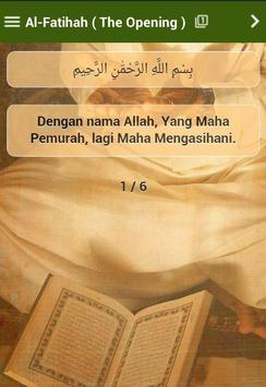 Terjemahan Al-Quran Malay apk screenshot