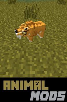 Animal MODS For MCPocketE poster