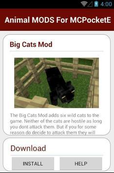 Animal MODS For MCPocketE screenshot 22