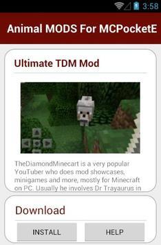 Animal MODS For MCPocketE screenshot 2