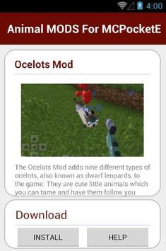 Animal MODS For MCPocketE screenshot 3