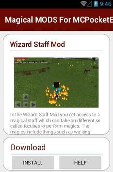 Magical MODS For MCPocketE apk screenshot