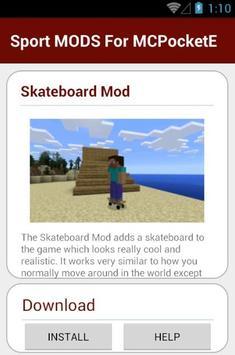 Sport MODS For MCPocketE apk screenshot