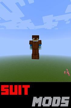 Suit MODS For MCPocketE apk screenshot