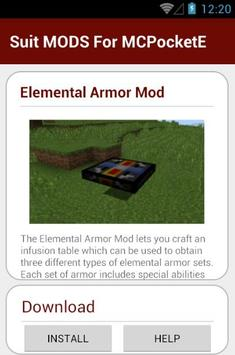 Suit MODS For MCPocketE screenshot 21