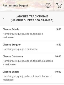 Restaurante Degust screenshot 1