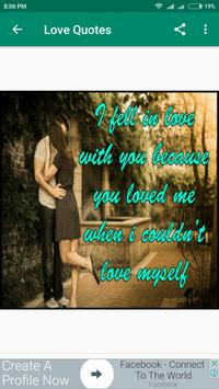 Love Quotes screenshot 5