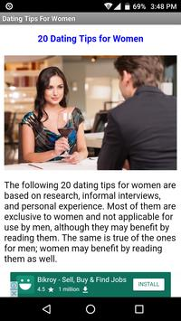 21 Dating Tips For Women poster